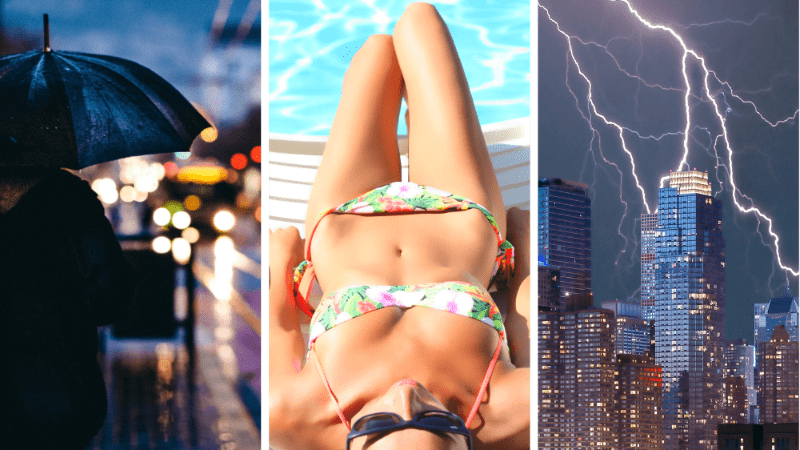 I hope you brought your umbrella, because this quiz will be all about the WEATHER