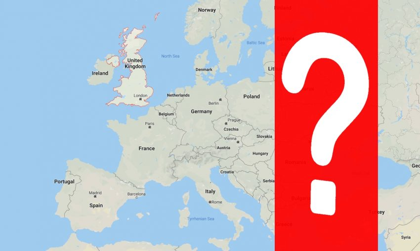 Geography of Europe – True or False? Only 1 in 200 makes no mistakes