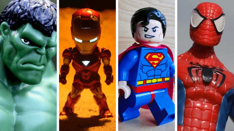 Can you recognize these 15 superheroes by their real name? The average: 12/15